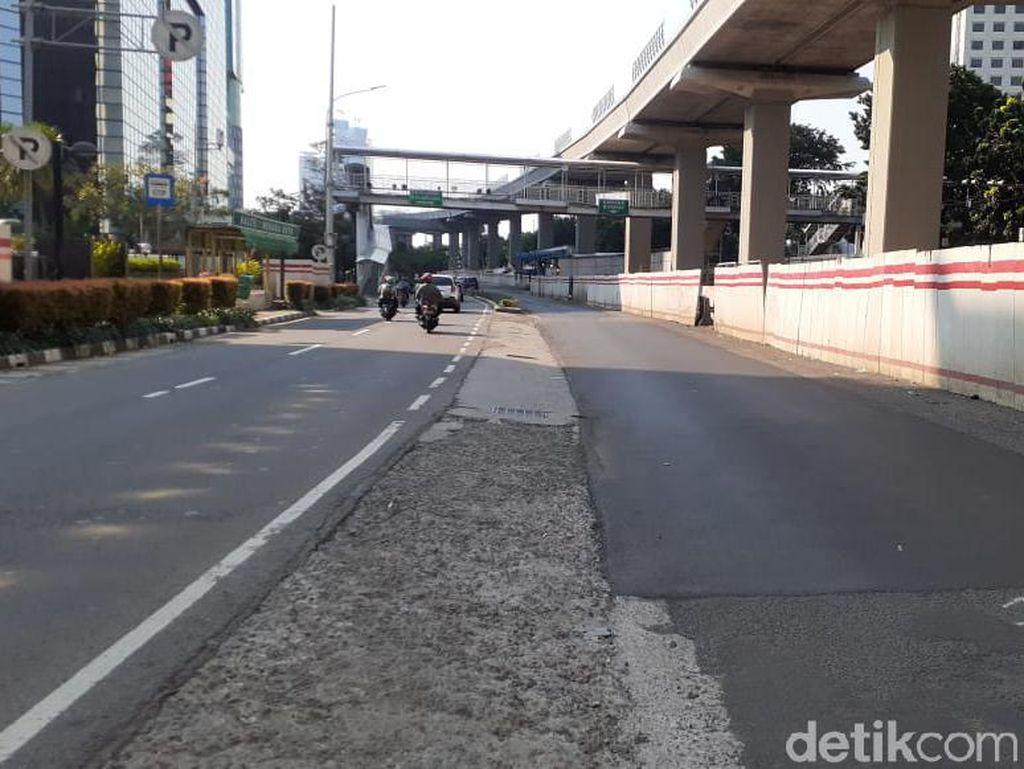 Jl HR Rasuna Said Ditambal: Sekitar Halte Patra Kuningan-Setiabudi Utara