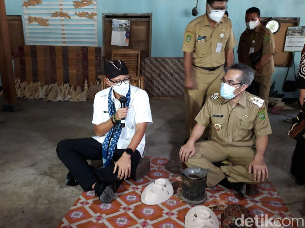 Strategi Sandiaga Genjot Kunjungan Wisawatan Lokal ke Bantul
