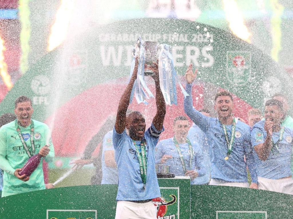 10 Fakta Keberhasilan Man City Juara Piala Liga Inggris