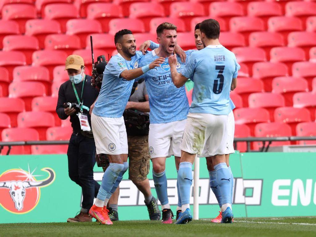 Final Piala Liga Inggris: Man City Juara Usai Atasi Tottenham 1-0