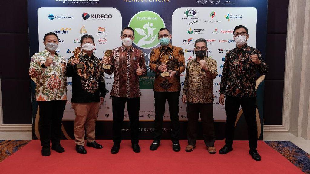 Momen Gelaran Top CSR Award 2021