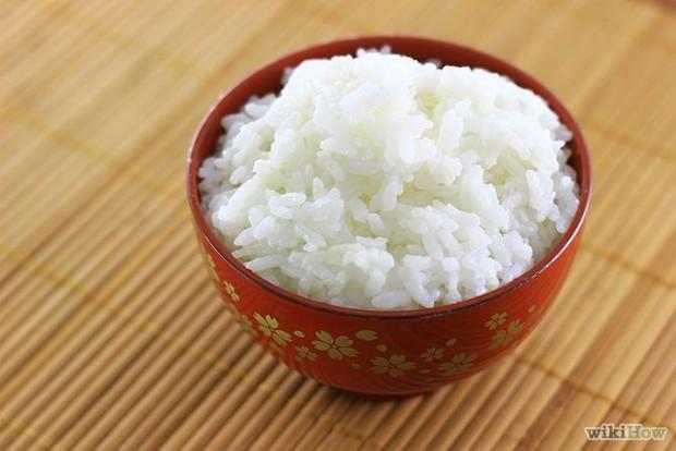 Nasi Putih.