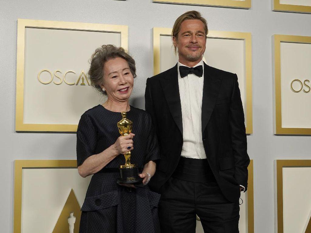 Yuh-Jung Youn Minari Tak Mau Mimpi Main Film Bareng Brad Pitt