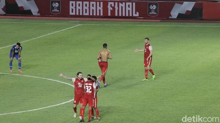 Persija Jakarta menjadi juara Piala Menpora 2021 usai mengalahkan Persib Bandung di babak final yang berlangsung di Stadion Manahan, Solo, 25 April 2020.