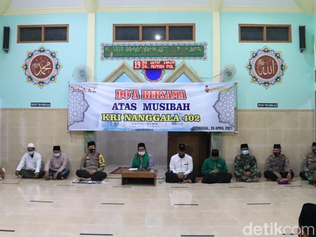 Doa Bersama untuk Kru KRI Nanggala-402 Berkumandang di Bumi Wali