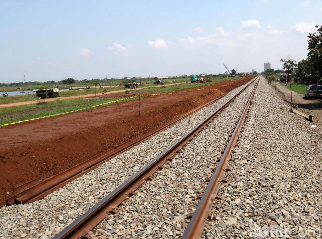 Begini Progres Pembangunan Rel Ganda Kiaracondong-Cicalengka