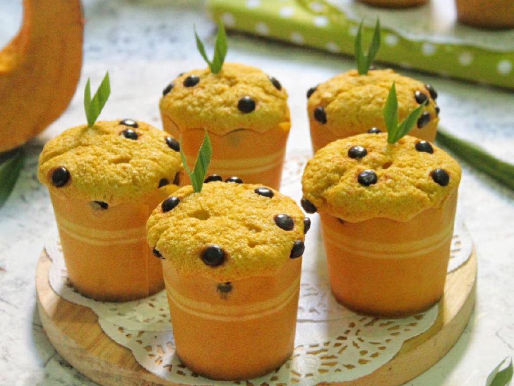 Resep Pembaca : Muffin Labu Kuning yang Lembut Legit