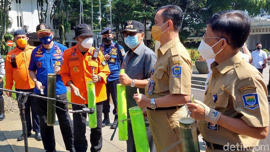 Pemkot Bandung Gelar Simulasi Kesiapsiagaan Menghadapi Bencana