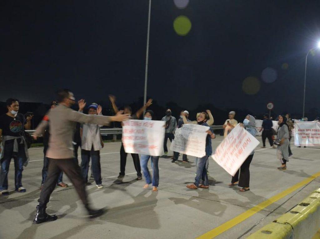 Tanggapan Pengelola soal Demo Warga di Tol Cimanggis-Cibitung