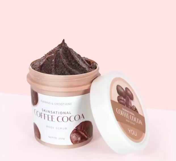 YOU Skinsational Coffee and Cocoa Body Scrub