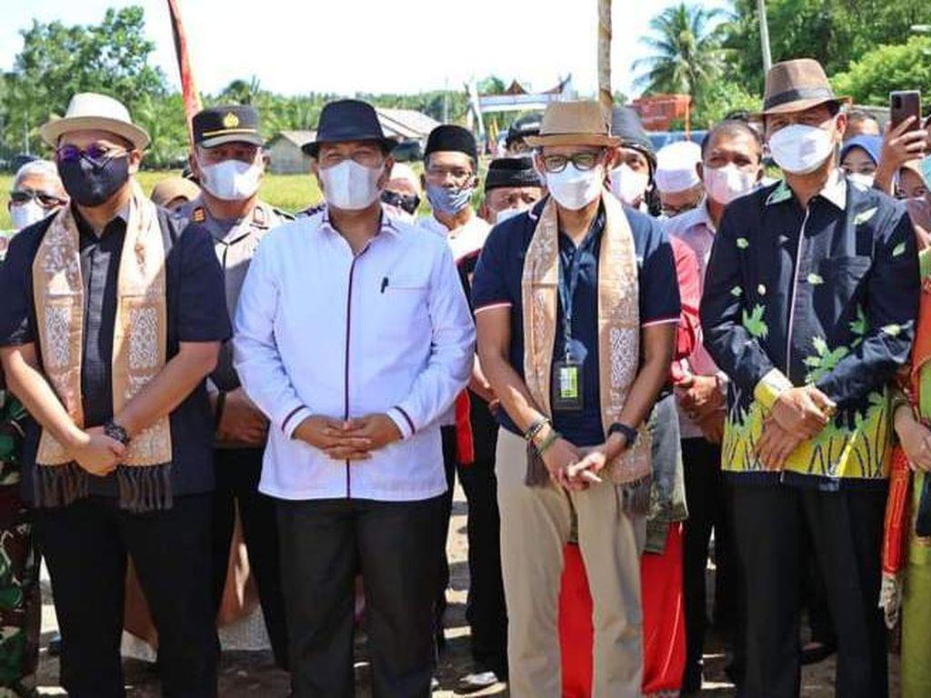 Sandiaga-Andre Rosiade Dukung Desa Wisata Tungkal Selatan Pariaman