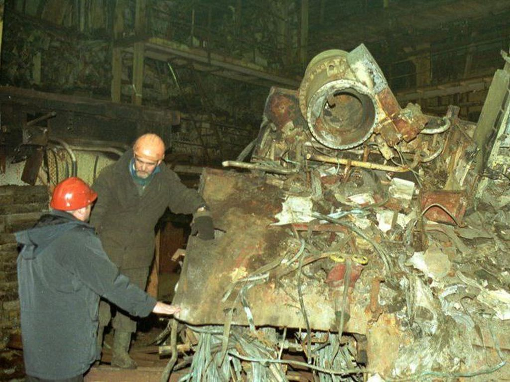 Cerita Evakuasi Kapal Selam Kursk Rusia yang Tenggelam Tahun 2000