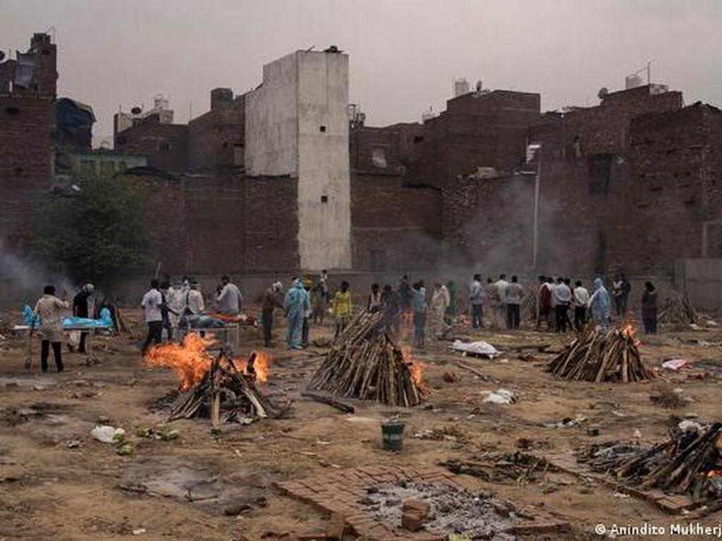India Darurat Corona, Pakar Ragukan Angka Kematian Resmi COVID-19