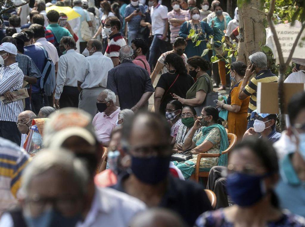 Krisis COVID-19 Seperti di India Bisa Terjadi di Mana Saja, Masih Mau Berkerumun?