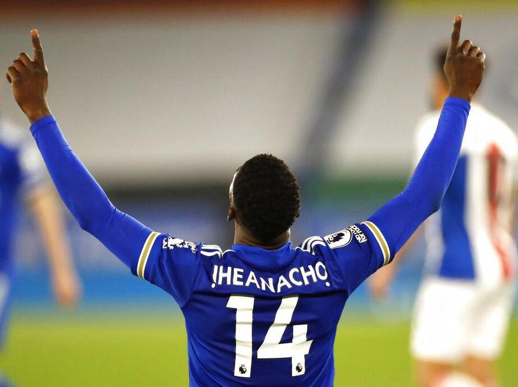 Iheanacho On Fire! Februari Masih 0 Gol, Kini Sudah 10 Gol