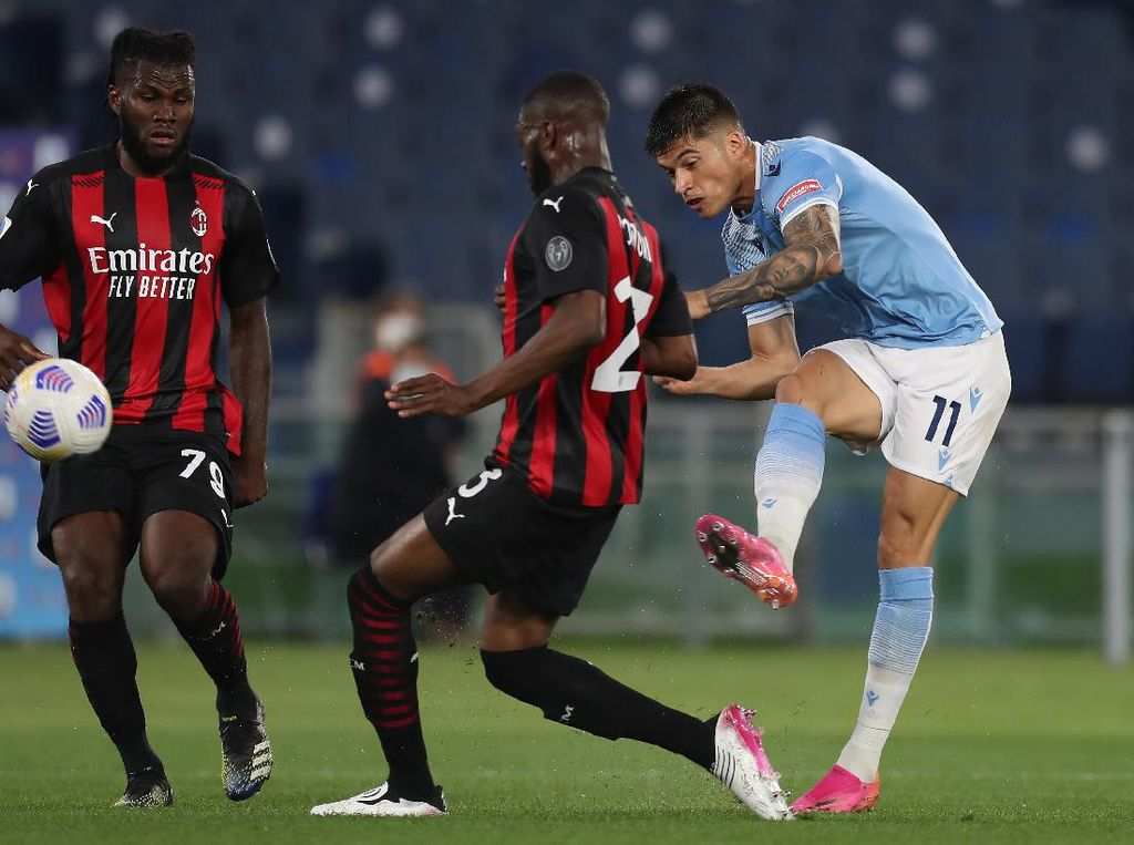 Dihajar Lazio, Milan Gagal Penuhi Ekspektasi Pioli
