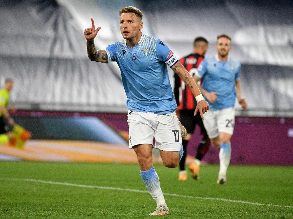 Kalahkan Milan, Harapan Lazio ke Liga Champions Terjaga