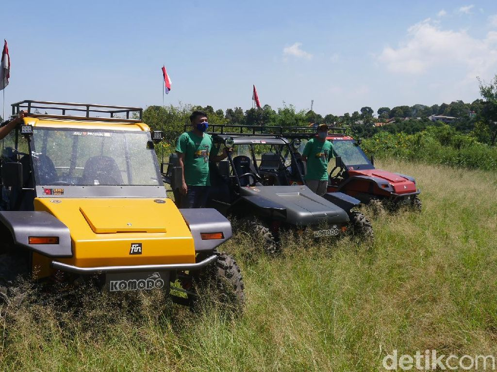 Melihat Fin Komodo, Kendaraan Pelibas Segala Medan Made In Cimahi