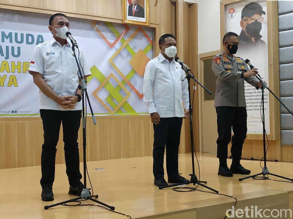 Polri Sebut Kerumuman Jakmania karena Ada Undangan di Medsos