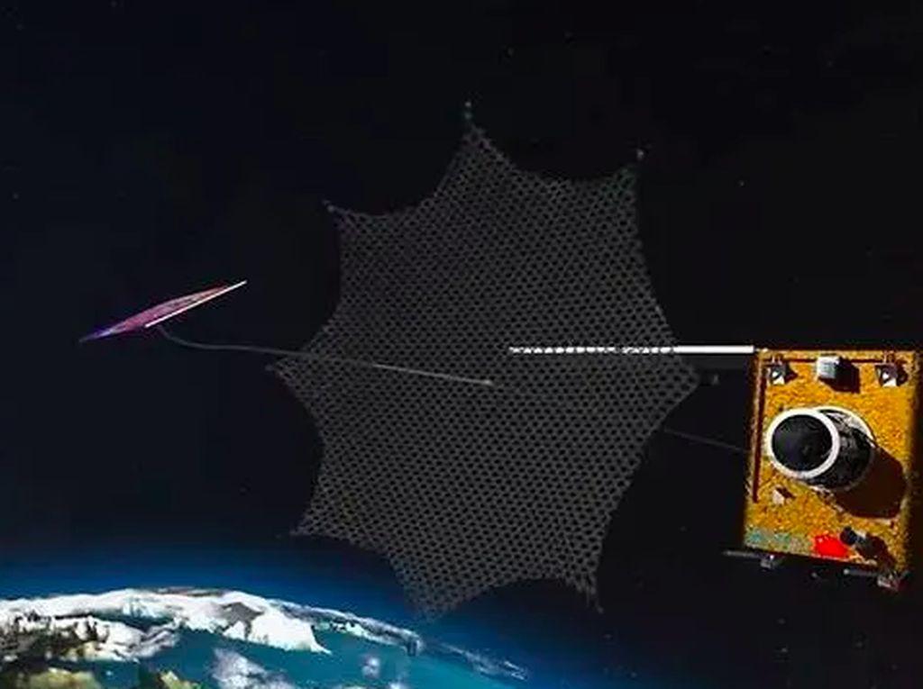 China Terbangkan Prototipe Robot Penambang ke Antariksa