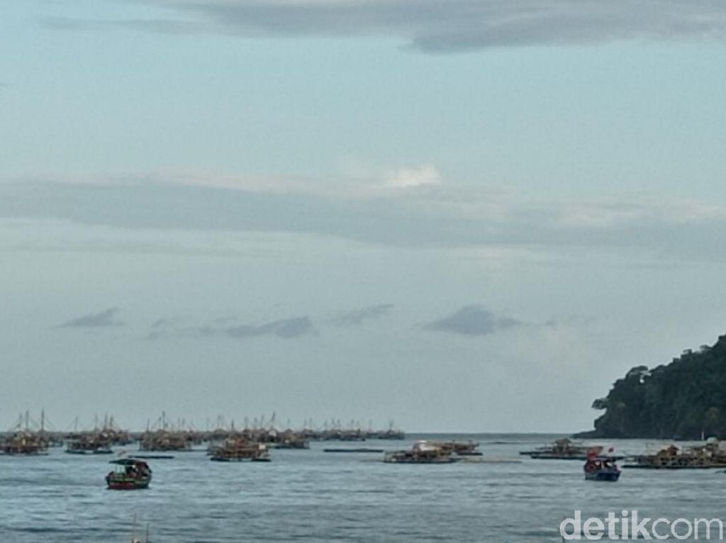 Aktivitas Bagang Merusak Ekosistem Laut Pangandaran