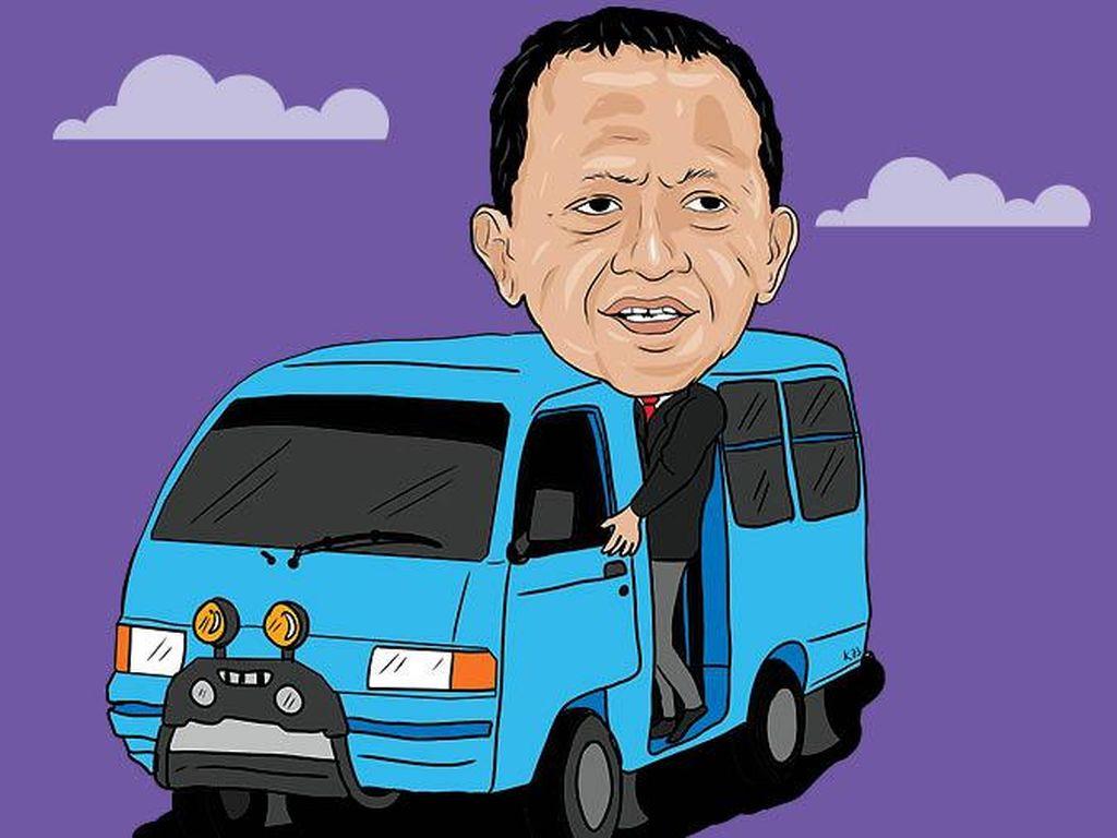 Bahlil Lahadalia: Mantan Sopir Angkot Jadi Menteri Investasi