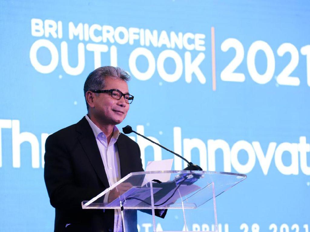 Kembangkan UMKM, BRI Gelar Microfinance Outlook 2021