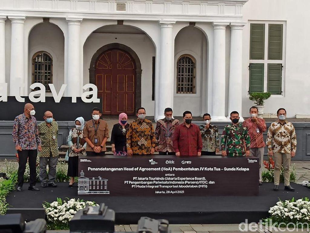 Mimpi Erick Thohir-Anies di Kota Tua-Sunda Kelapa