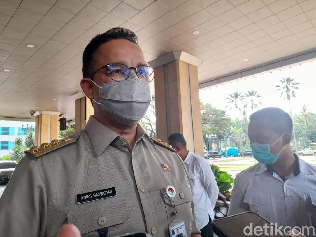 Anies Rapat Bareng Kepala Daerah Bodetabek Bahas Aturan Saat Lebaran