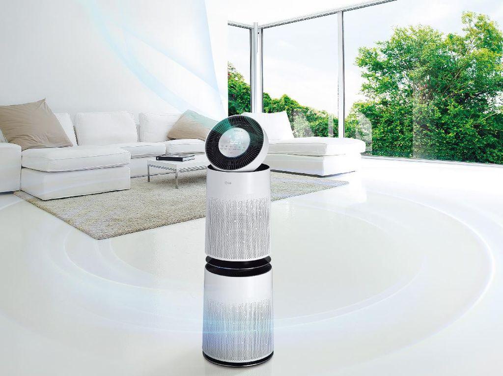 LG PuriCare 360 Diklaim Eliminasi Virus dan Bakteri Seluruh Ruangan
