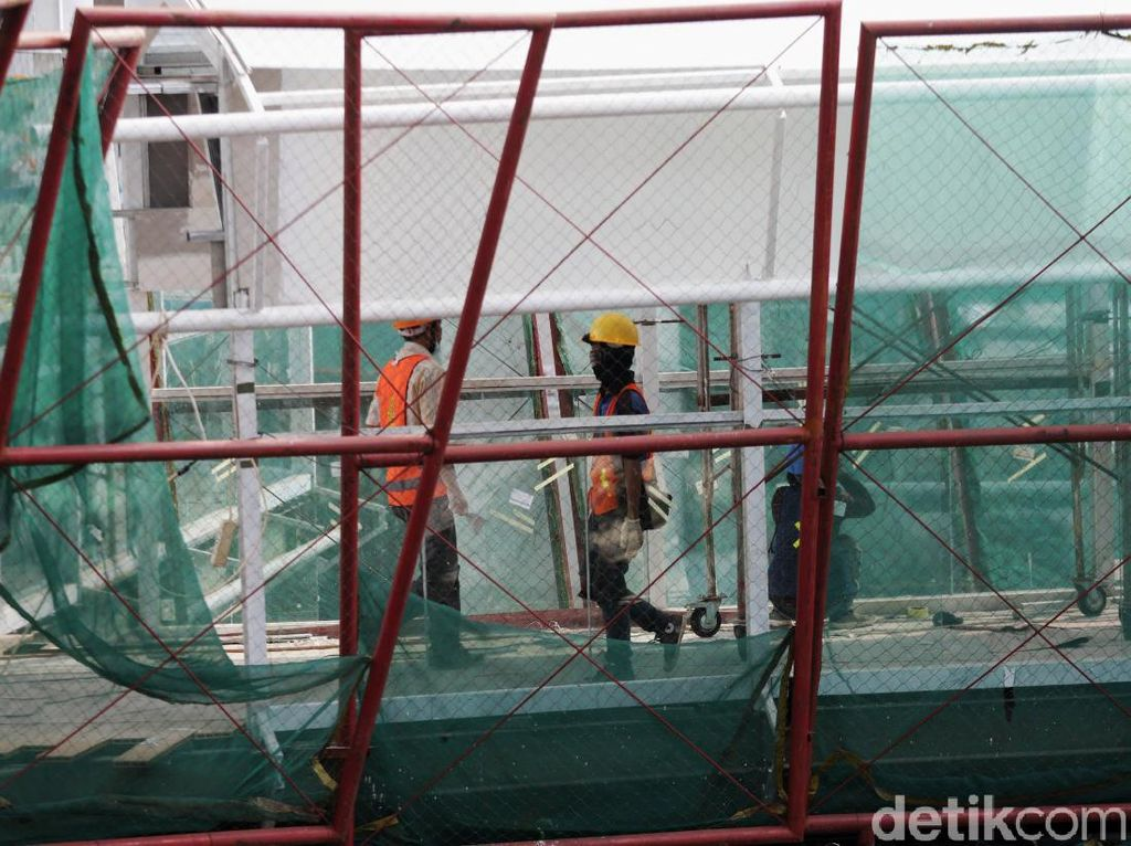 Progres Capai 80%, Jembatan Penghubung MRT-Transjakarta Dibuka saat HUT DKI