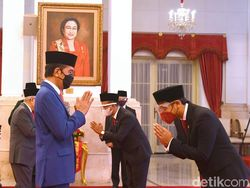 Reshuffle Kabinet, Ini Susunan Terbaru Kabinet Indonesia Maju Jokowi