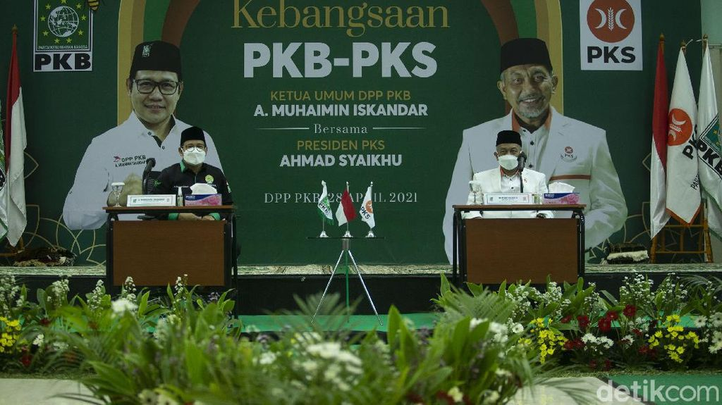 Momen PKS Silaturahmi dengan PKB