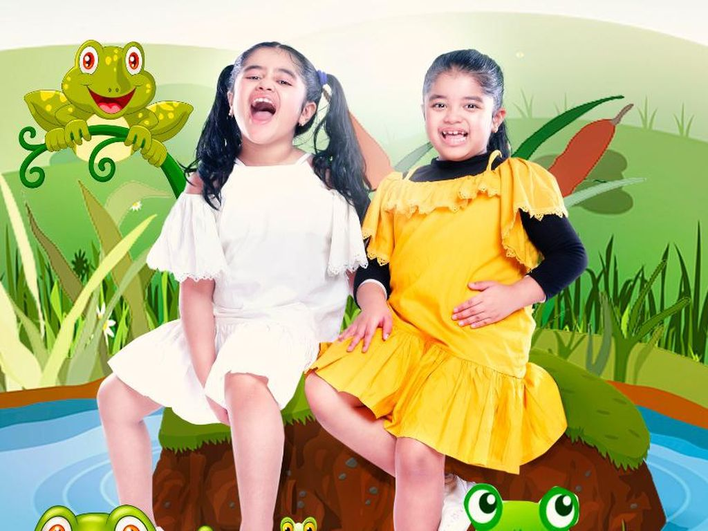 Album Si Kembar Nikhita dan Nishita Berisi Lagu Papa T Bob yang Belum Rilis