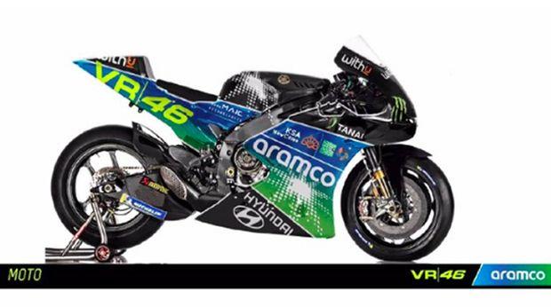 Penampakan VR46 MotoGP 2022