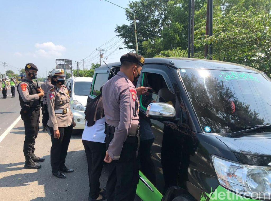 Belum Ada Kendaraan Ditolak Masuk Jateng Via Brebes Saat Pengetatan Mudik