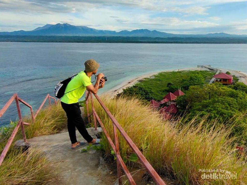 Pesona Pulau Punten di Minahasa Tenggara, Bikin Meleleh