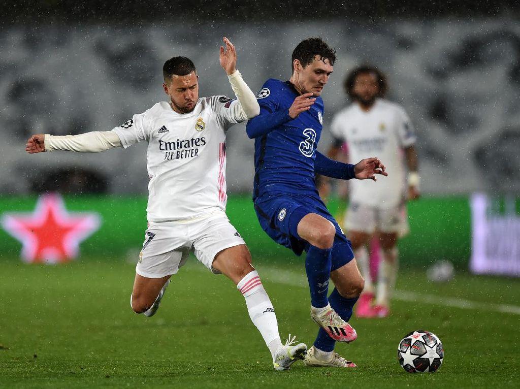 Real Madrid Gagal Start Kencang, Malah Kalah Agresif dari Chelsea