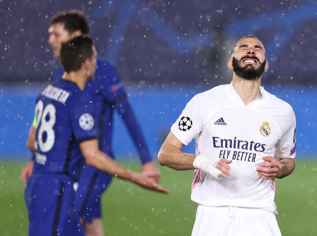 Real Madrid Mati Kutu di Hadapan Chelsea