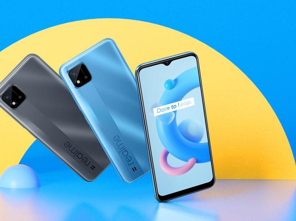 Harga Realme C20 Rp 1 Jutaan, Ini Spesifikasi Lengkapnya