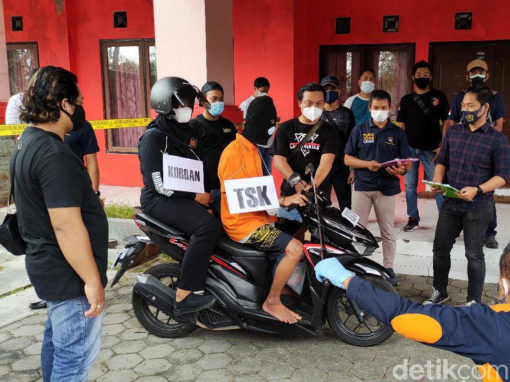 Detik-detik Pelaku Pembunuhan Berantai Habisi Korban di Kulon Progo