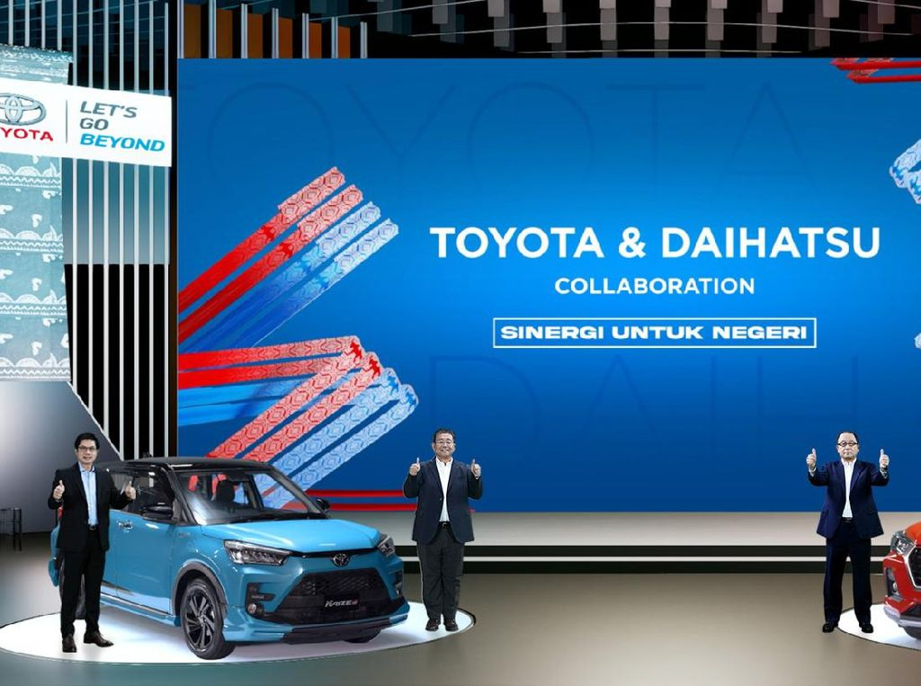 Ada Raize-Rocky, Mobil Kembar Toyota-Daihatsu Bertambah Lagi