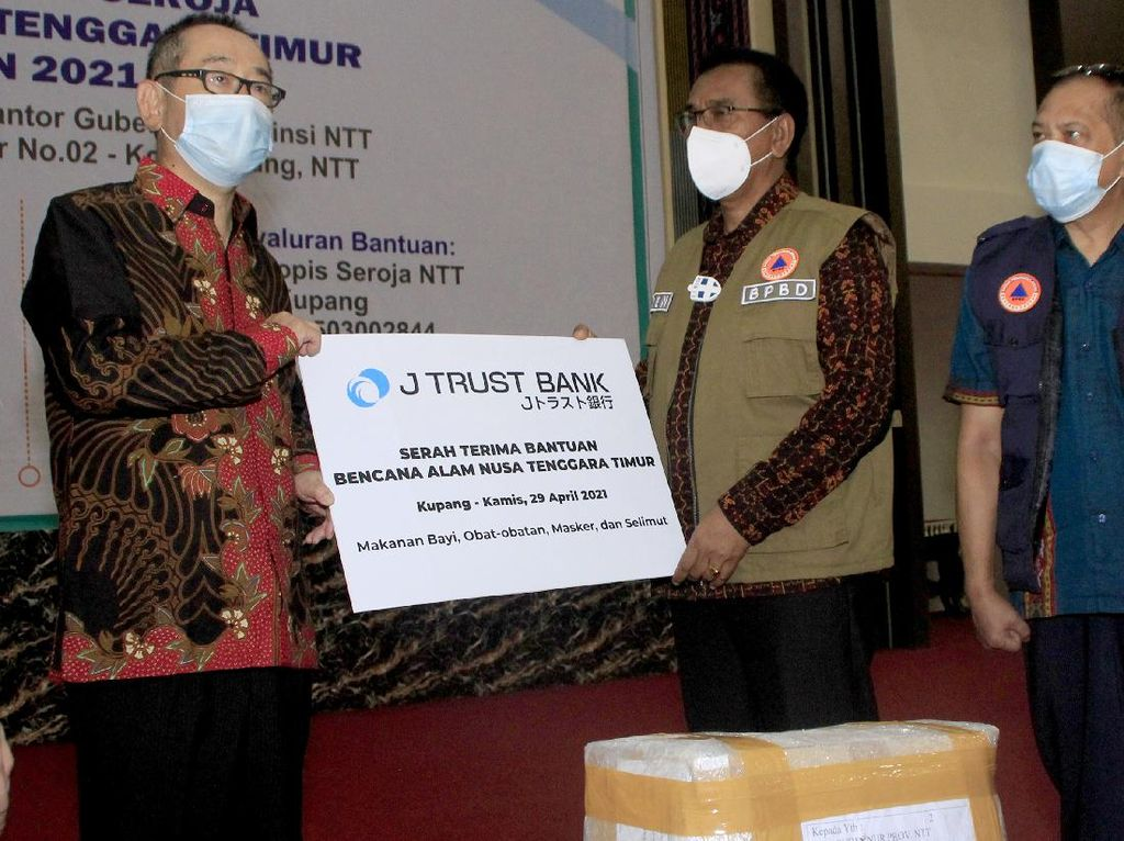 Bantuan untuk Korban Bencana Alam NTT
