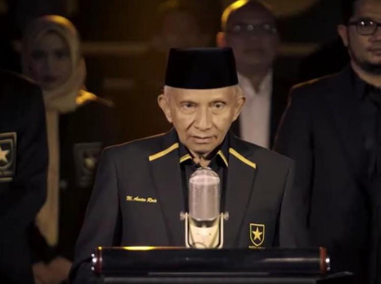 PAN Akui Dijegal Amien Rais Dukung Jokowi-Maruf, Ini Kata Partai Ummat