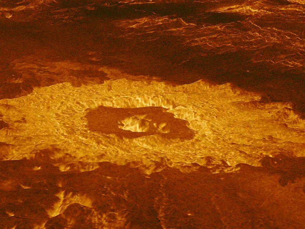 Foto Permukaan Venus Jarak Dekat yang Disebut Mirip Neraka