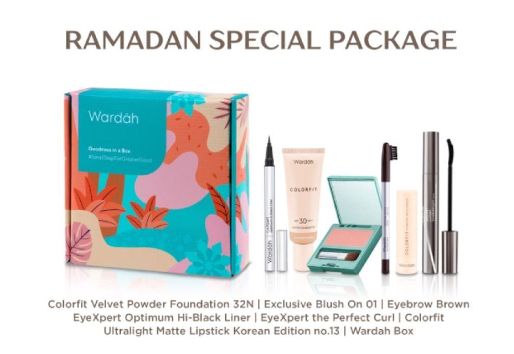 Hampers Makeup dari Wardah/wardahbeauty.com