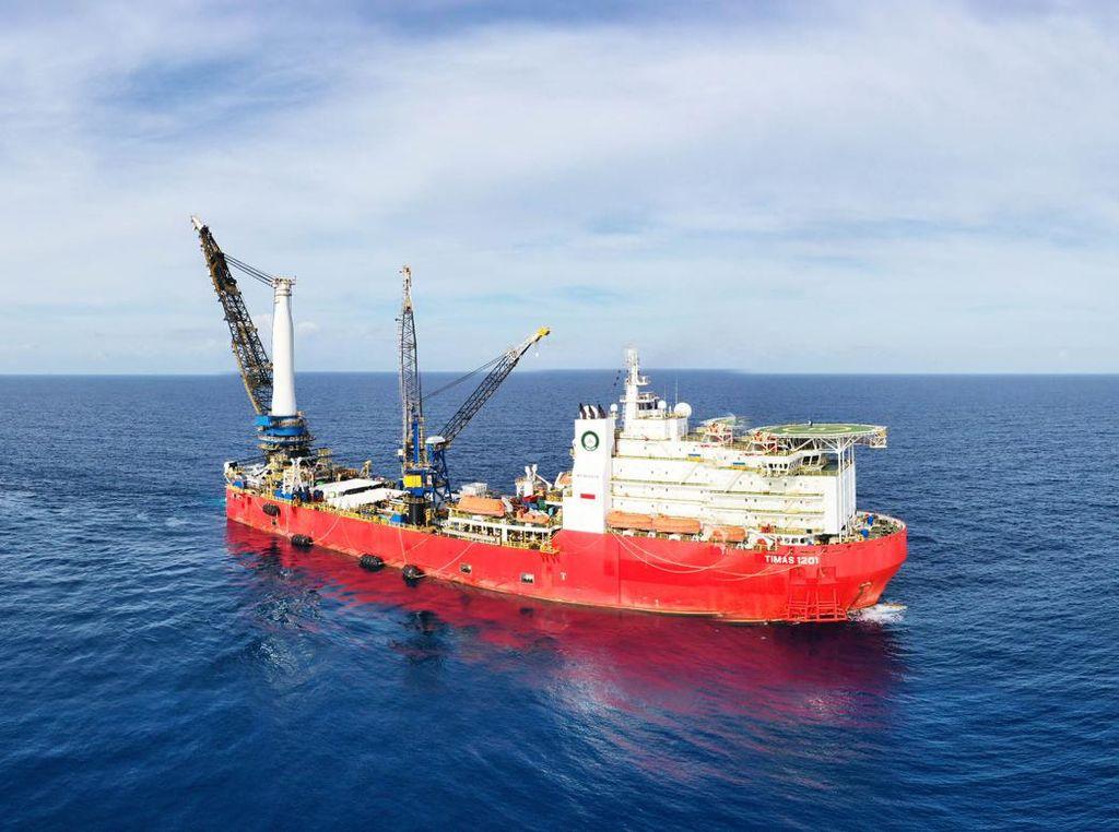 Kecanggihan Kapal Timas yang Akan Angkut Bangkai KRI Nanggala-402