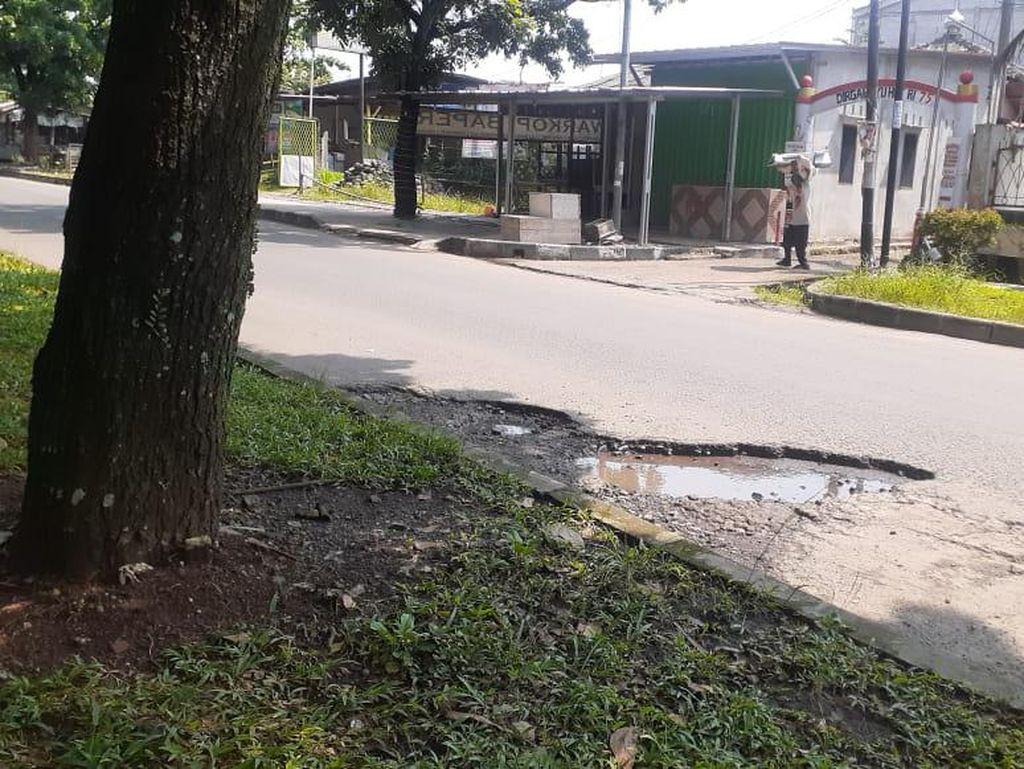 Jl Tegar Beriman Bogor Rawan Kecelakaan, Warga Harap Ada Perbaikan