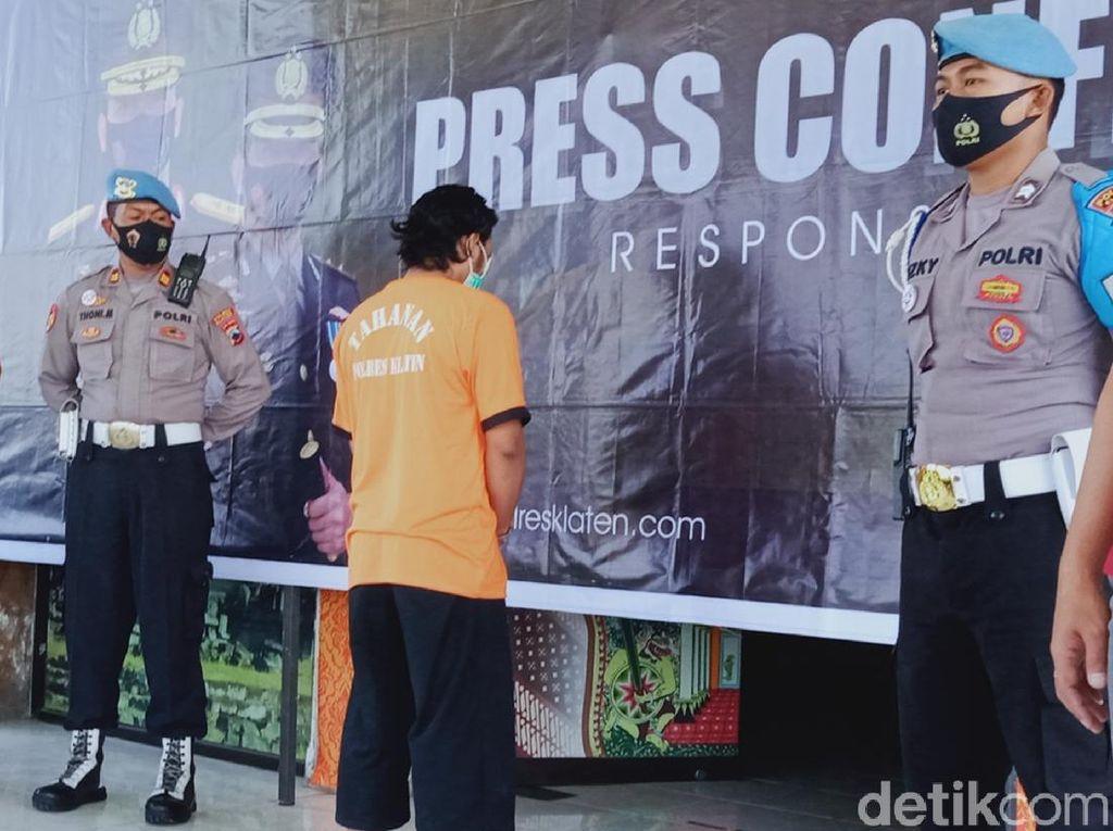 Pembunuh Pemuda Bersimbah Darah di Klaten Terancam Hukuman Mati