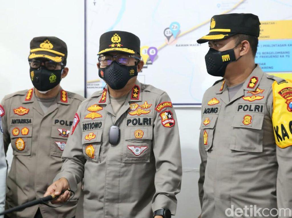 Jokowi Minta Penyekatan Dievaluasi, Ini Kata Korlantas Polri